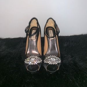 Badgley Mischka League Platform heels